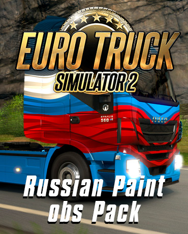 Euro Truck Simulator 2 – Russian Paint Jobs Pack