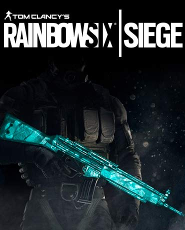 Tom Clancy's Rainbow Six Siege – Cyan Weapon Skin