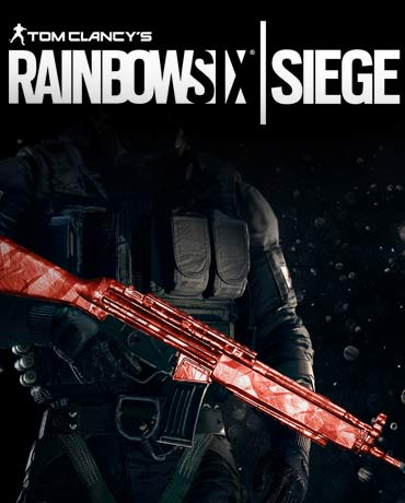 Tom Clancy's Rainbow Six Siege – Ruby Weapon Skin