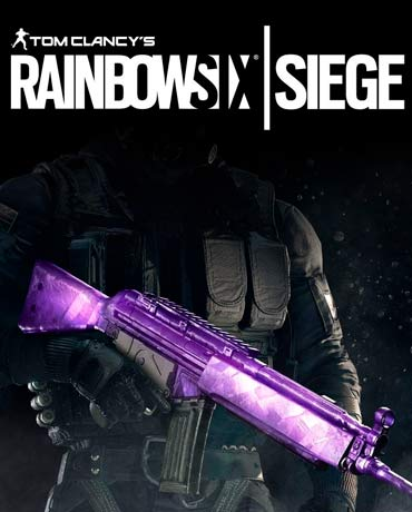 Tom Clancy's Rainbow Six Siege – Amethyst Weapon Skin