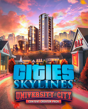 Cities: Skylines – Content Creator Pack: University City